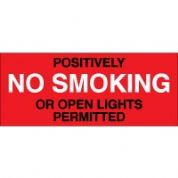 No Smoking safety sign - Positvely No 031